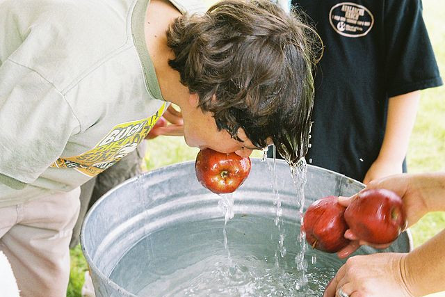 dipping for apples