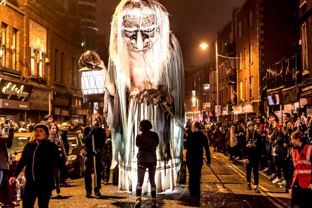 Halloween in ireland parade